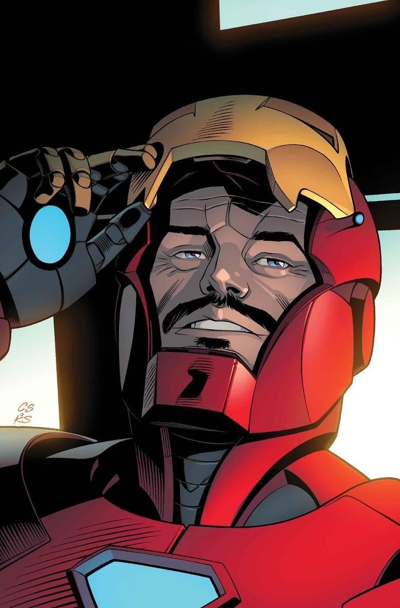 Tony Stark Kembali Lagi di Komik Invincible Iron Man