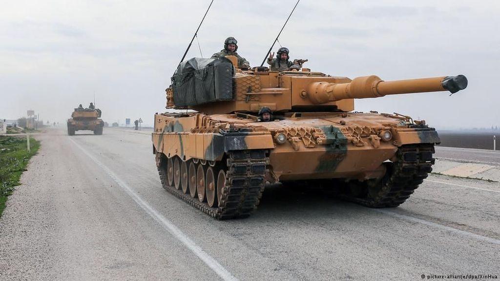 Turki Kerahkan Panser Leopard ke Suriah, Pemerintah Jerman Dikecam
