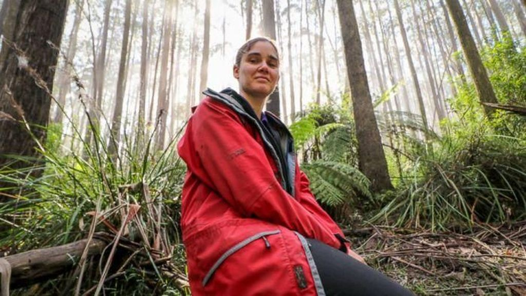 Selamatkan Hutan Tasmania, Perempuan Ini Tinggal di Pohon 449 Hari