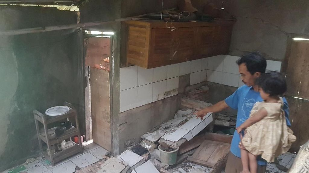 Cerita Ngerinya Gempa Banten yang Dirasakan Warga Lebak