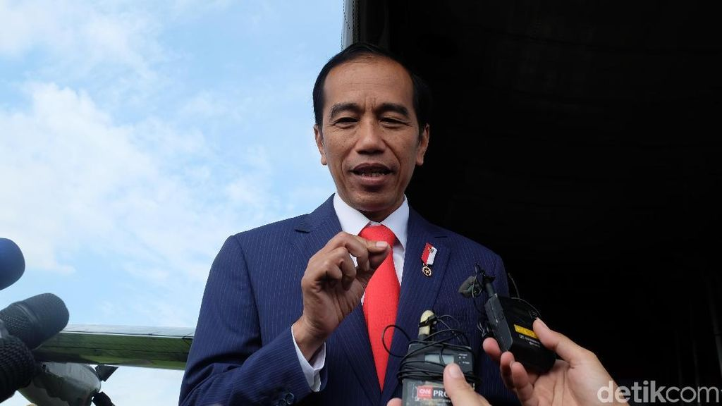 Jokowi Minta Panglima-Kapolri Turun Tangan Atasi Gizi Buruk di Asmat