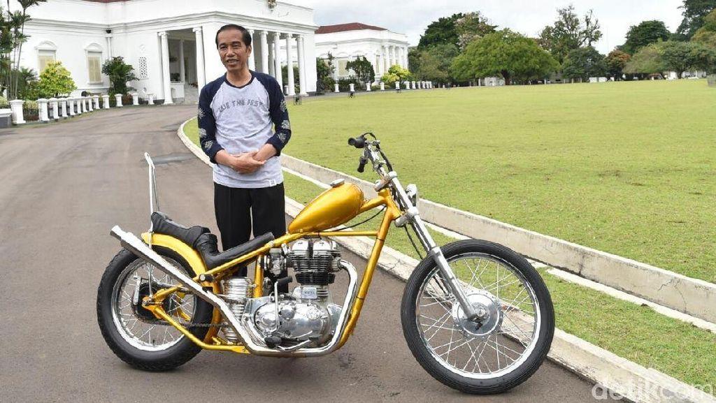 Mengintip Tunggangan Unik Jokowi