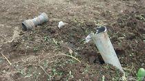 Diuji Coba, Roket RH112B Jatuh dan Meledak di Lumajang