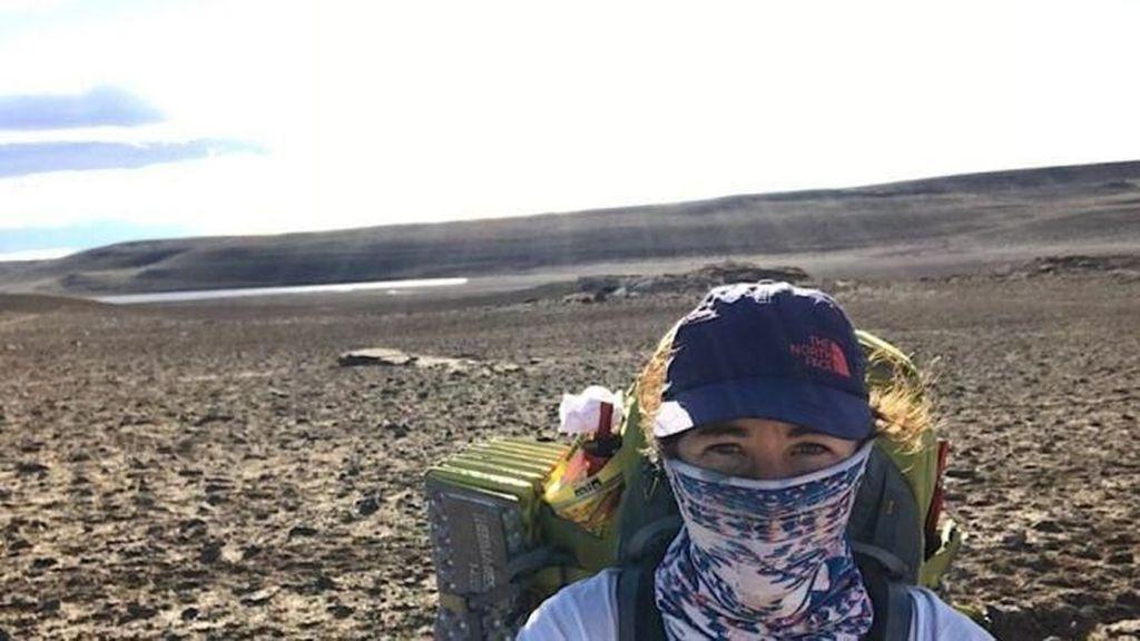 Tekad Perempuan Australia Berjalan Kaki Sejauh Panjang Bumi