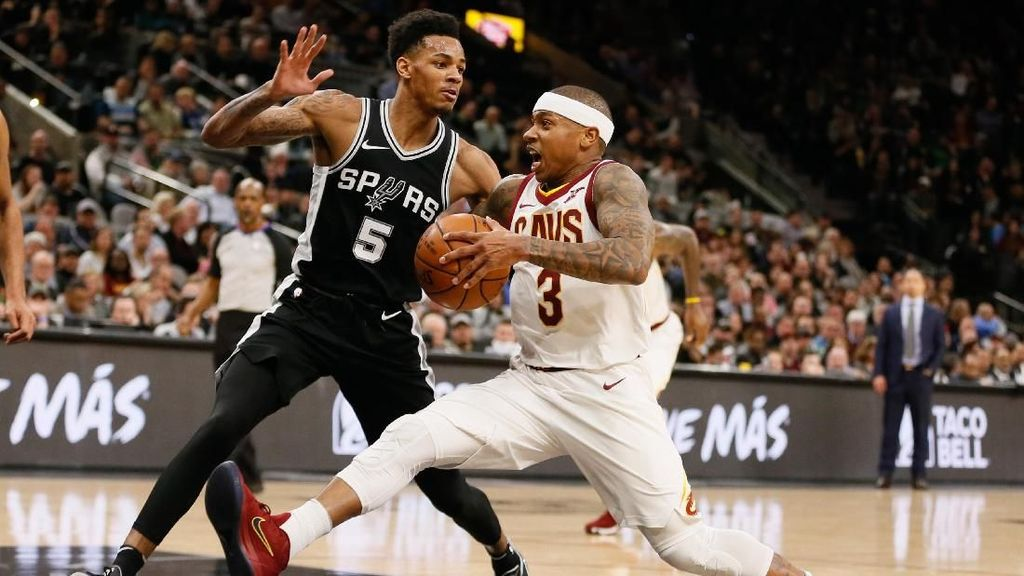 Spurs Gasak Cavs