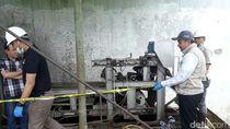 Pabrik Tekstil Pembuang Limbah ke Citarum Ditutup Polisi