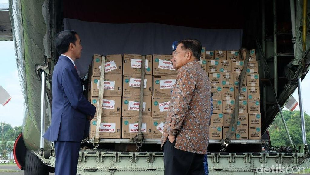 Sebelum ke Sri Lanka, Jokowi Cek Bantuan Logistik ke Rohingya