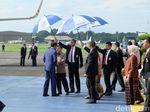 Wapres JK dan Anies Lepas Jokowi Terbang ke Sri Lanka