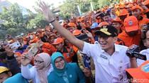 Beragam Gaya Sandiaga Uno Saat Pimpin Jakarta
