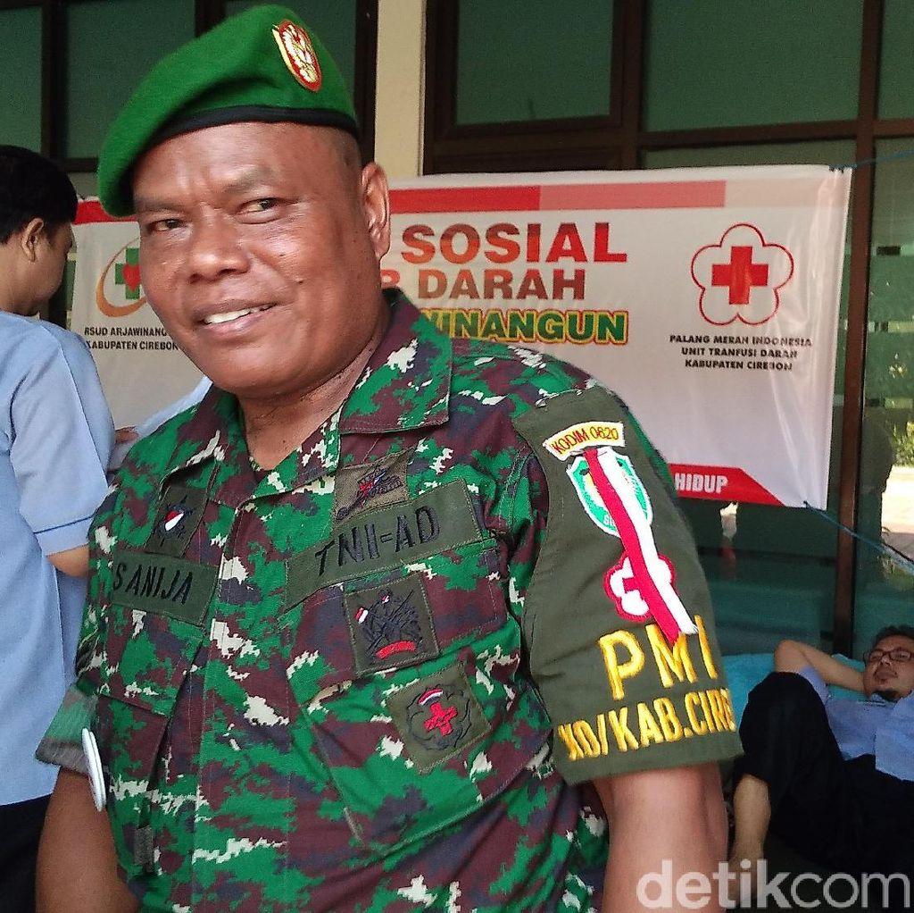 Sertu Sanija, Pejuang Donor Darah Cirebon yang Peduli Talasemia