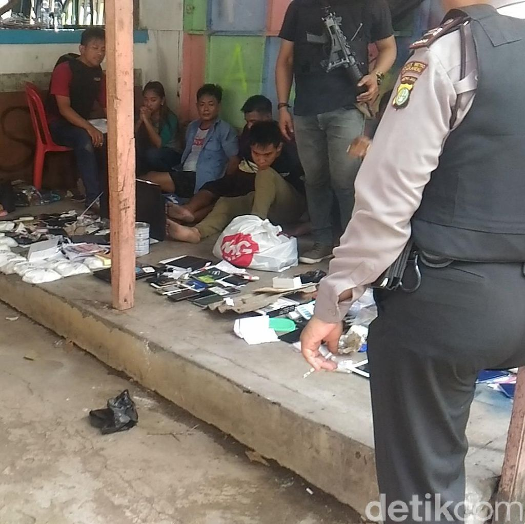 Sita 18 Kg Sabu dari Kampung Ambon, Polisi Tangkap 6 Orang