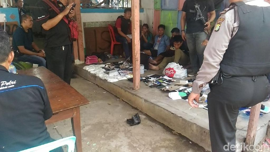 Sita 18 Kg Bahan Sabu dari Kampung Ambon, Polisi Tangkap 6 Orang