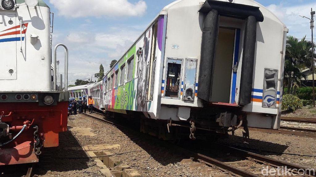 Kereta Anjlok di Bandung, KAI Pastikan Jadwal Perjalanan Normal