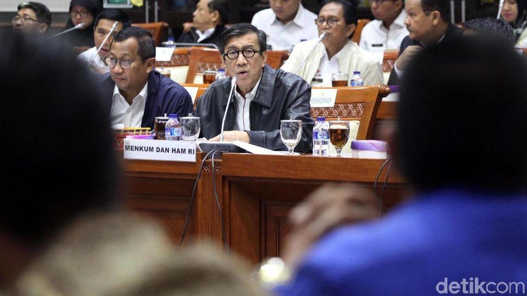 DPR Cecar Menkum soal Kebijakan Bebas Visa dan Overcapacity Lapas