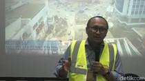 Jakpro: Pengerjaan Proyek LRT Jakarta Terkendala Cuaca