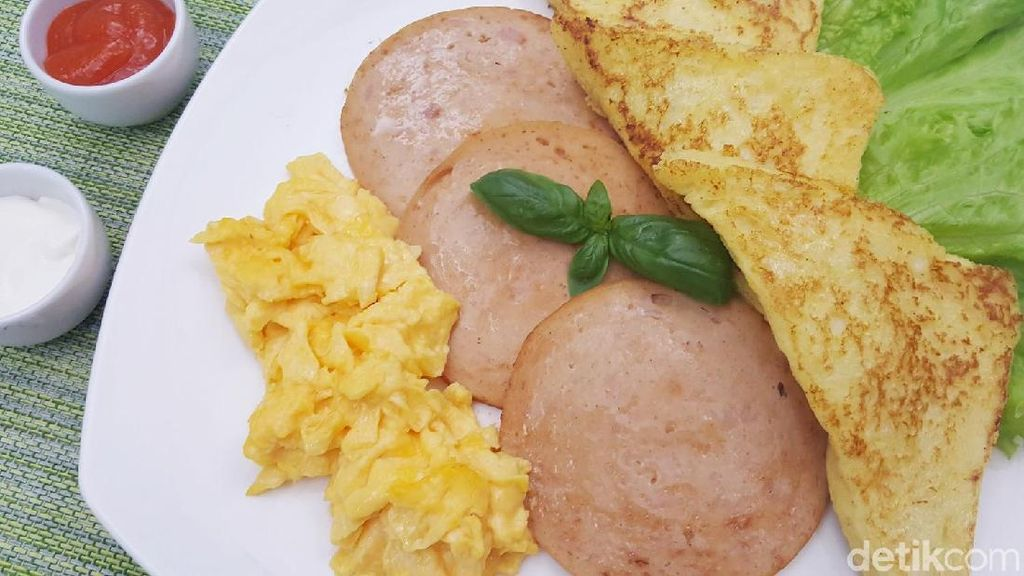 Resep Sarapan :  French Toast with Fiesta Chicken Slice