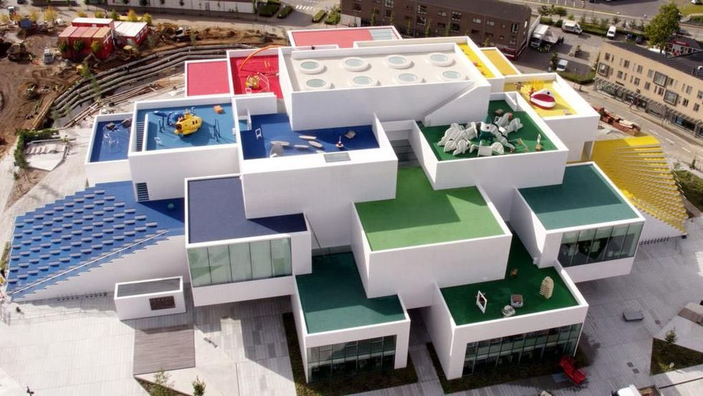Seperti Apa Rumah Lego di Dunia Nyata?