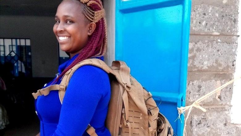 Bidan Ransel, Andalan Ibu dan Anak di Tempat Terpencil di Afrika