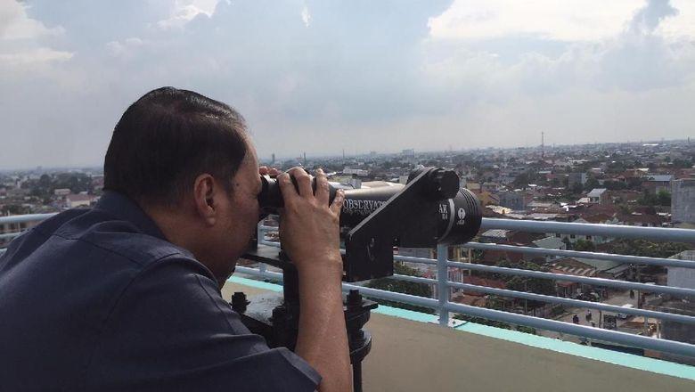 Yuk, Nobar Gerhana Bulan Biru Kemerahan di Medan