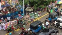 Melihat Titik Trotoar Wilayah Jatinegara yang Masih Ramai PKL