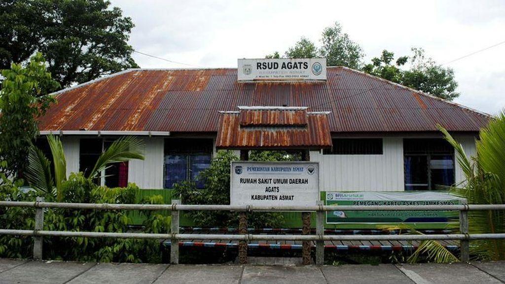 Foto: Situasi Terkini Penanganan Campak dan Gizi Buruk di Kabupaten Asmat