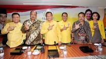 Lodewijk Jumpa Pers Soal SK Kabinet Golkar Bersih