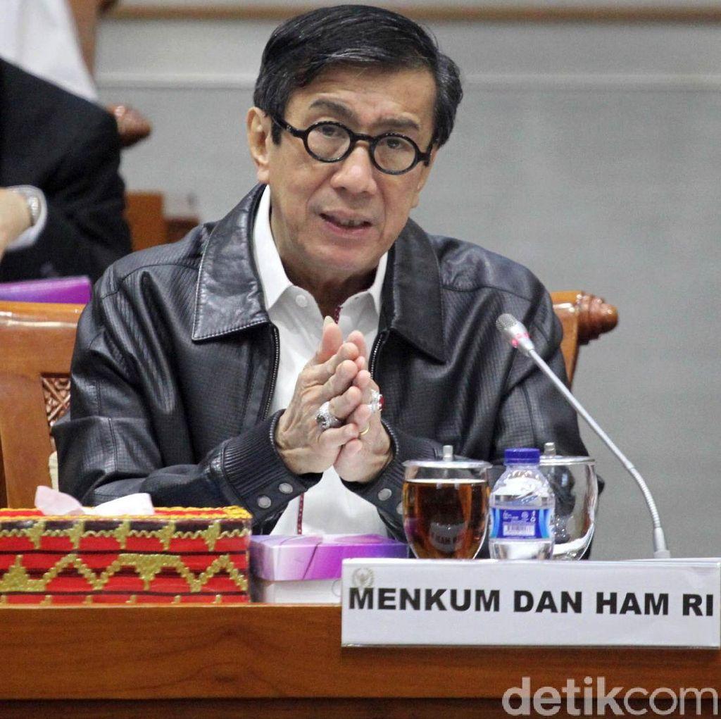 Jokowi Tak Mau Teken UU MD3, MAKI: Menkumham Gagal Emban Tugas