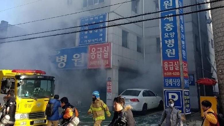 Korban Tewas Kebakaran Rumah Sakit Korsel Jadi 41 Orang