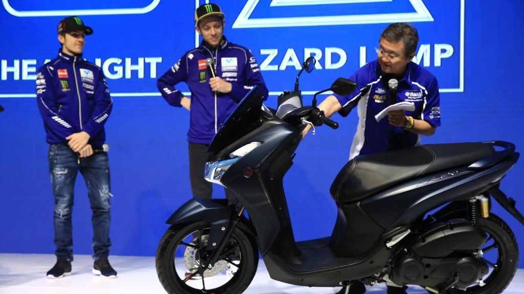 Yamaha Lexi Juga Cocok untuk Ojol