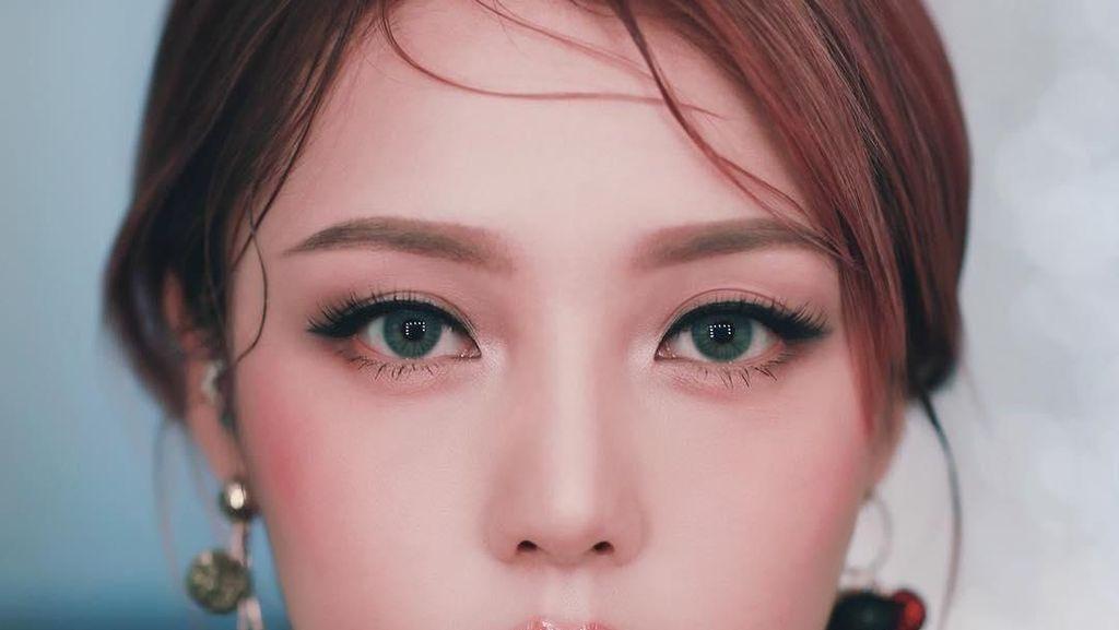 Foto: Ini Si Cantik dari Korea yang Bisa Beli Lamborghini karena Jago Makeup
