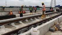 Moratorium Proyek Konstruksi Layang, Anies: LRT Tak Ada Pengaruhnya