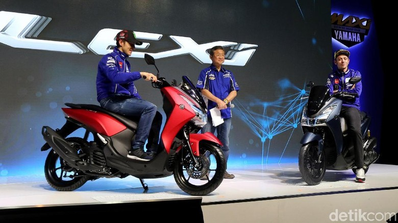 Ada Ongkos Kirim, Yamaha Lexi di Sumatera Utara Lebih Mahal Sedikit