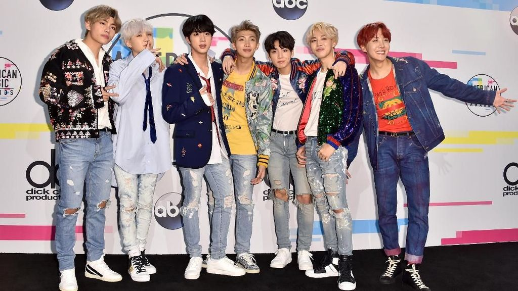 BTS Masuk Nominasi Kids Choice Awards Nickelodeon