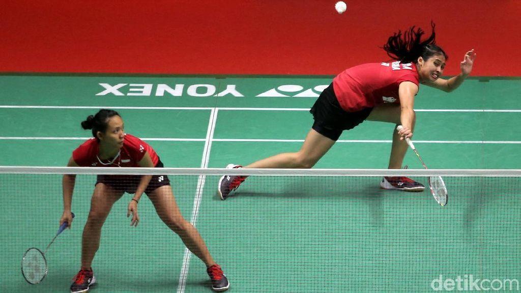 Della/Rizki Gagal Melaju ke Semifinal Indonesia Masters 2018