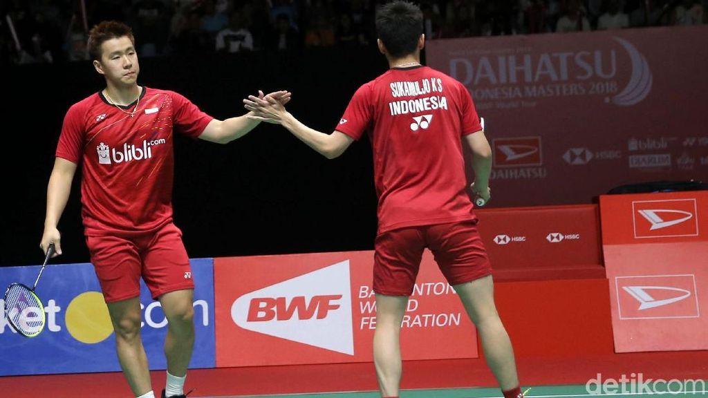 The Minions Tatap Semifinal Indonesia Masters 2018