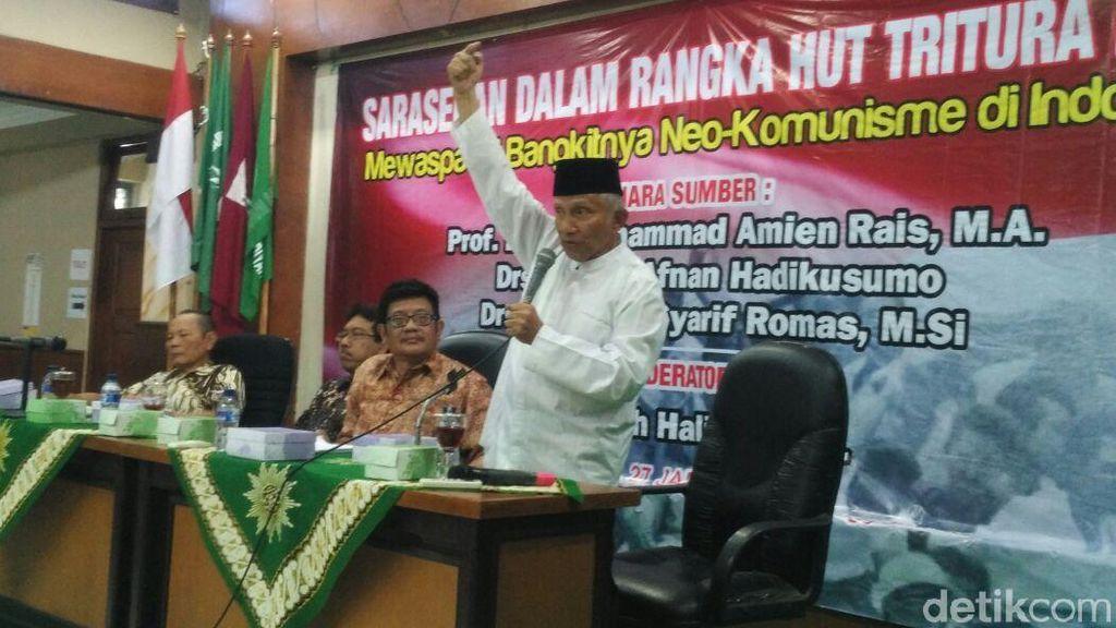 Serangan Amien Rais yang Tuding Jokowi Ngibul