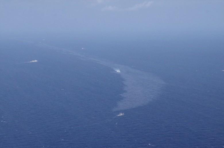 Tumpahan Minyak Kapal Tanker di China Bisa Sampai Laut Jepang