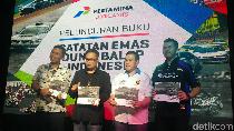 Pertamina Luncurkan Buku Sejarah Balap Indonesia