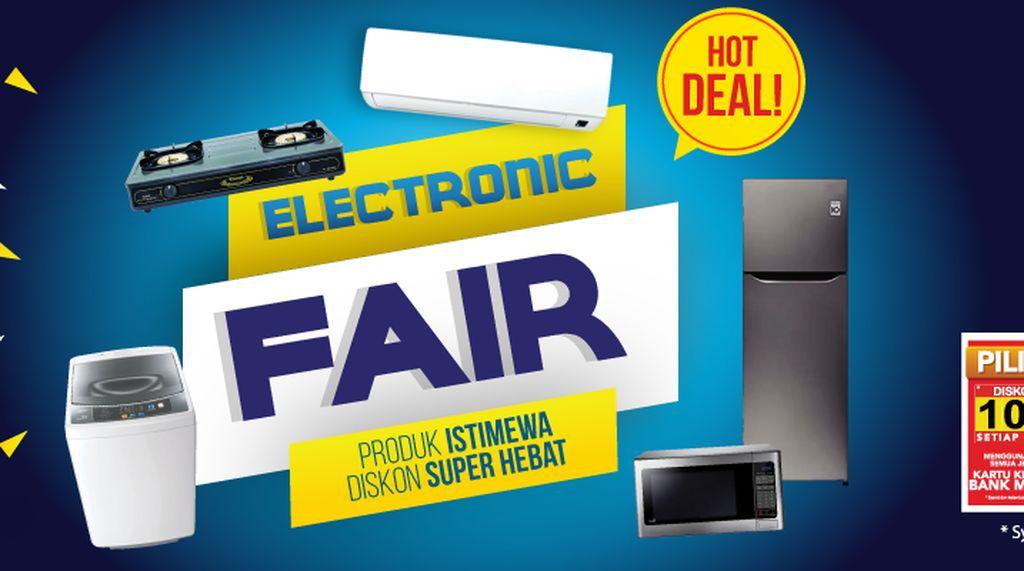 Diskon Barang Elektronik di Promo Gajian Transmart Carrefour
