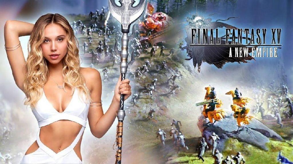 Alexis Ren, Dewi Perang Super Seksi di Final Fantasy XV