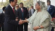 Jokowi Ajak PM Bangladesh Jaga Keamanan di Samudera Hindia