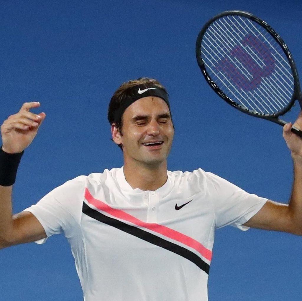 Totti Berharap Federer Tak Segera Pensiun