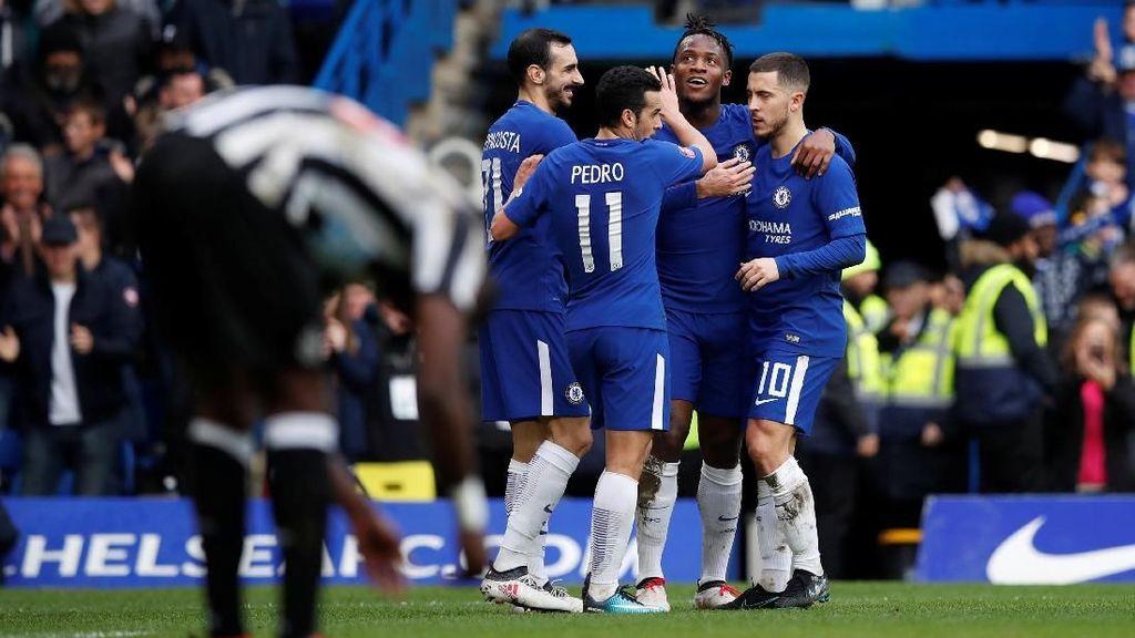 Hajar Newcastle, Chelsea ke Babak Kelima Piala FA