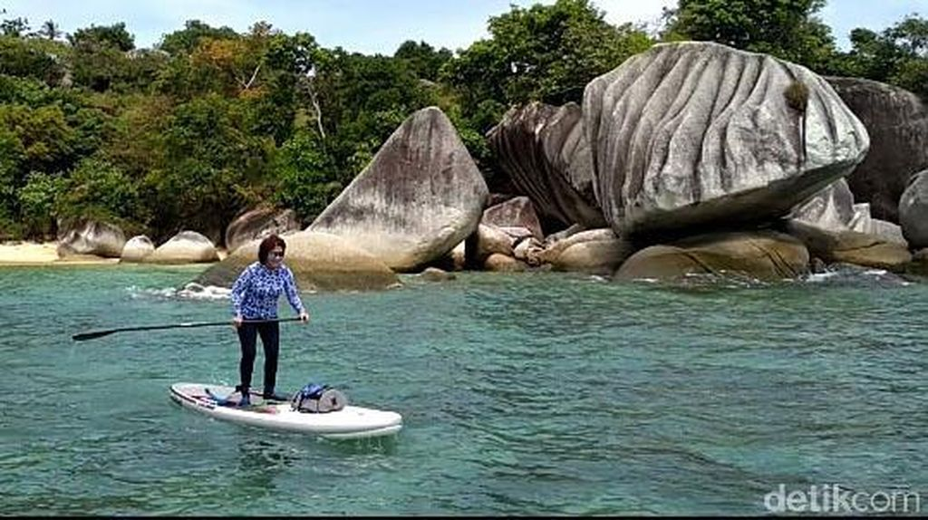 Foto: Menteri Susi Sudah ke Batu Sindu Natuna, Kamu Kapan?