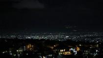 Melihat Cantiknya Bandung dari Ketinggian di Malam Hari