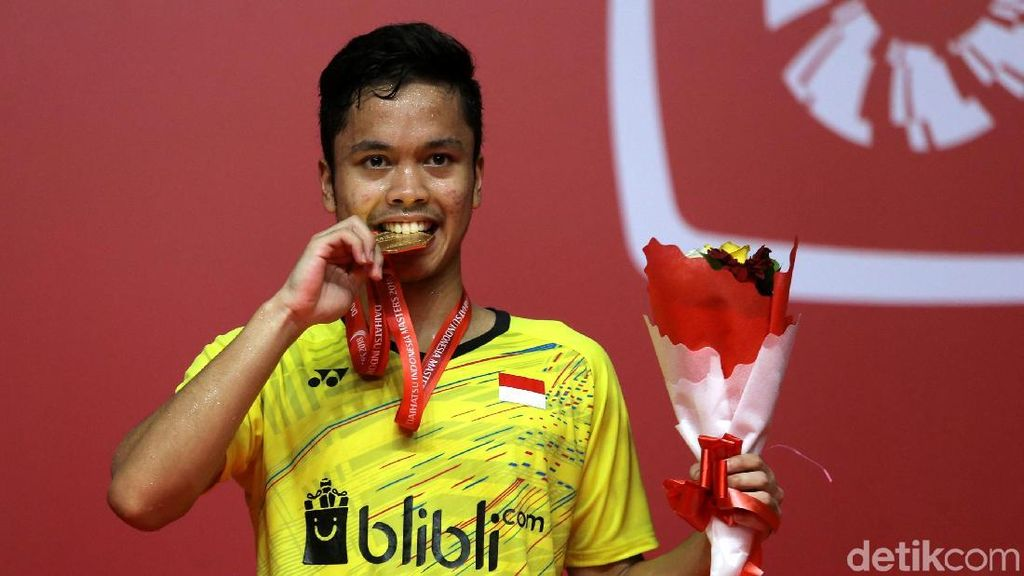 Persiapan Anthony Menuju Thomas-Uber dan Asian Games 2018