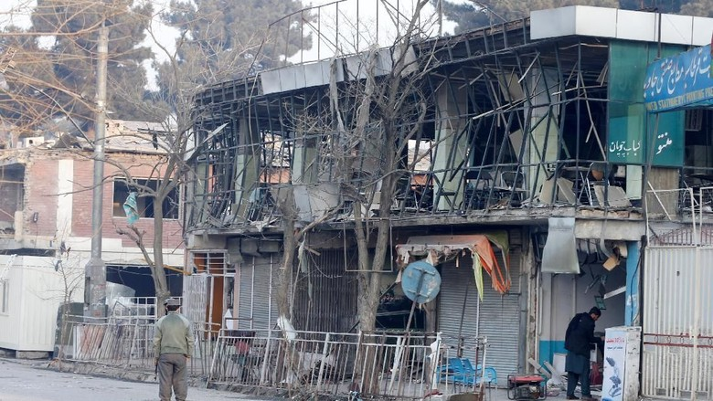 Taliban Sebut Bom Ambulans di Kabul Adalah Pesan untuk Trump