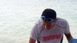 Lawan Menteri Susi di Danau Sunter, Sandi Renang 3 Kali Sepekan