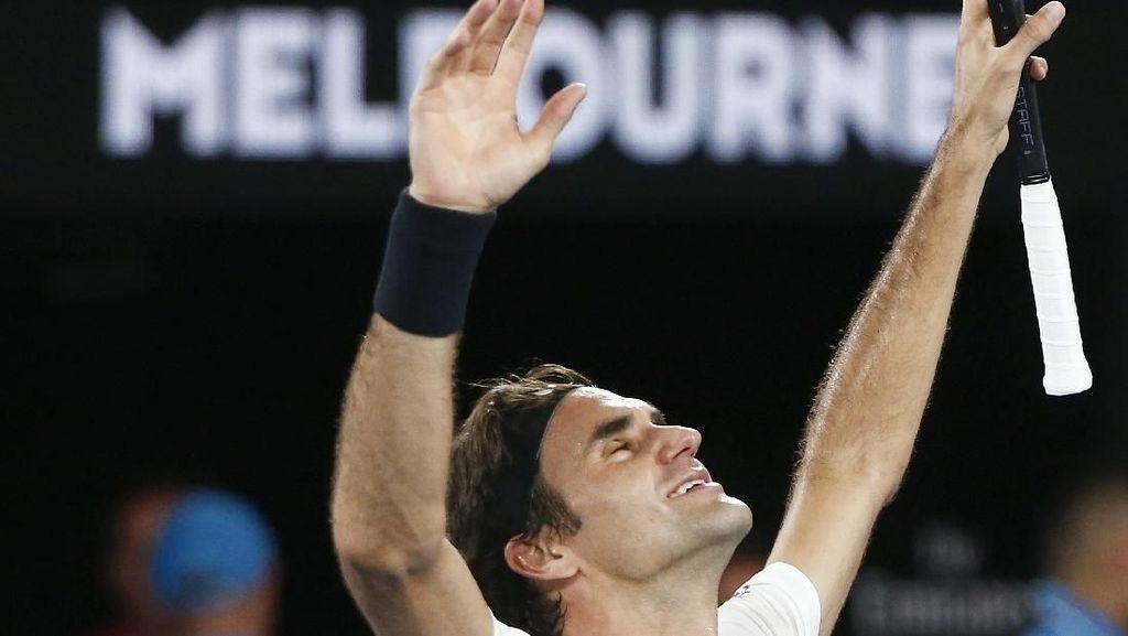 Impian Roger Federer yang Terwujud di Rod Laver Arena