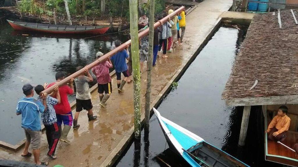 19 Desa di Riau Kini Terang Benderang